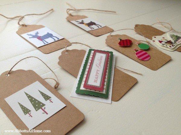 Christmas Card Ornaments