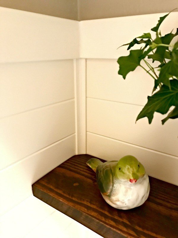 Bathroom Makeover Reveal. These 5 steps took our bathroom from blah to charming Farmhouse-style.