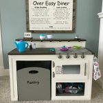 DIY Kids Play Kitchen Diner and Menu