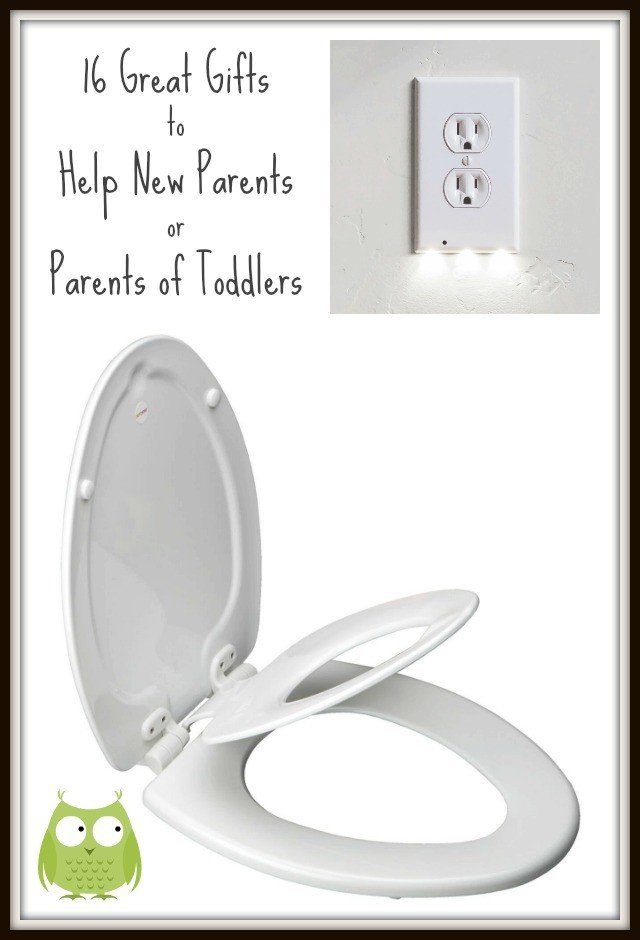 Gifts to help new parents or parents of toddlers. These will make life easier or just help repair everything. :) #parentgifts #showergifts #christmas