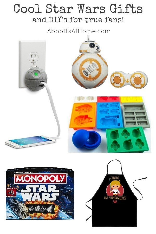 Cool Star Wars Gift Ideas for Birthdays, Christmas, or any time. Perfect for the fanboy or fangirl. #StarWars #Gift #Christmas