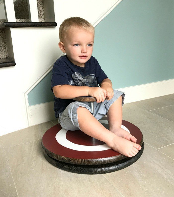 Easy DIY Sit & Spin Toy – Tutorial & Video