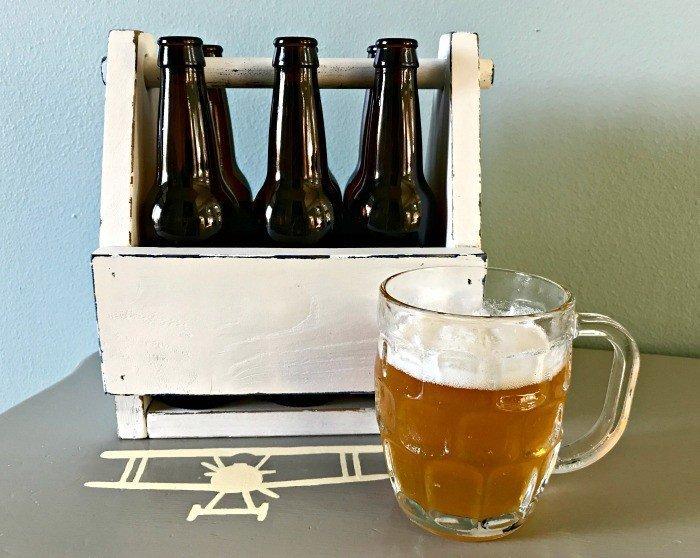 Vintage Diy Wooden Beer Caddy Plans Abbotts At Home