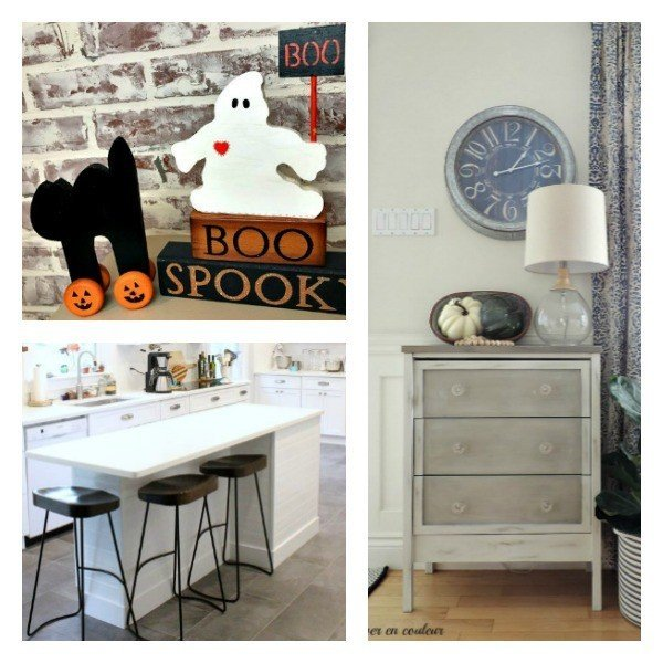 This weeks features: A cool Ikea Rast Hack, a DIY Farmhouse Island on a Budget, and Halloween Wood DIY
