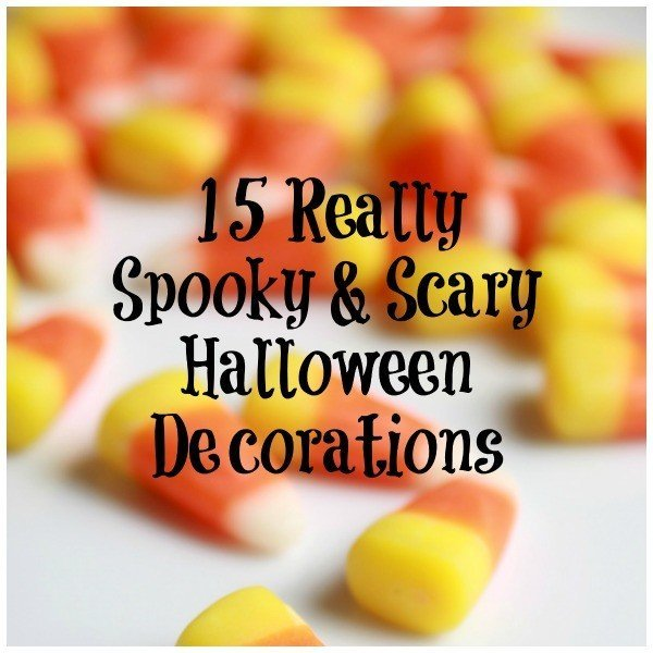 These Halloween Decorations will Scare, Spook, Haunt, Disgust, and Frighten this Halloween. Perfect for Parties and Outside the Home. #Halloween #Scary #Decorations