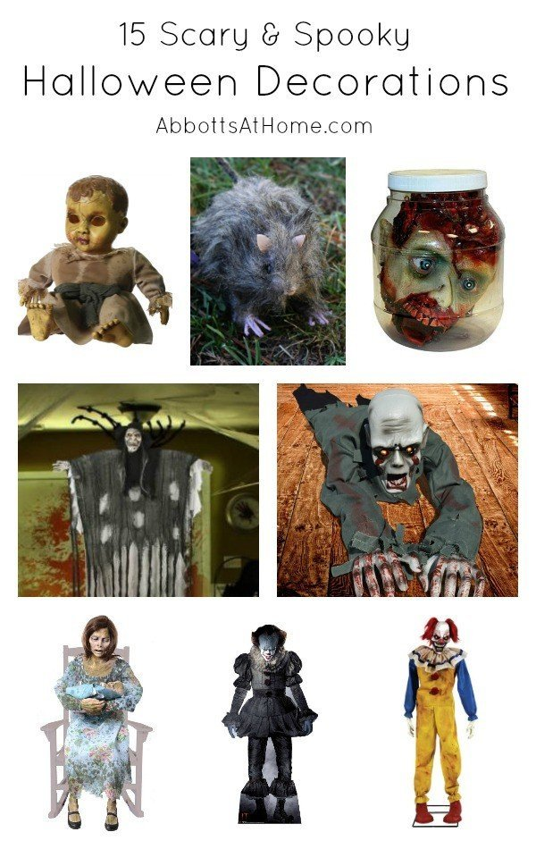 OK, here are the Best Amazon Halloween Decorations that will Scare, Spook, Haunt, Disgust, and Frighten your neighbors this Halloween. Perfect for Parties and Outside the Home. #Halloween #Amazon #HalloweenDecor #HalloweenDecorations