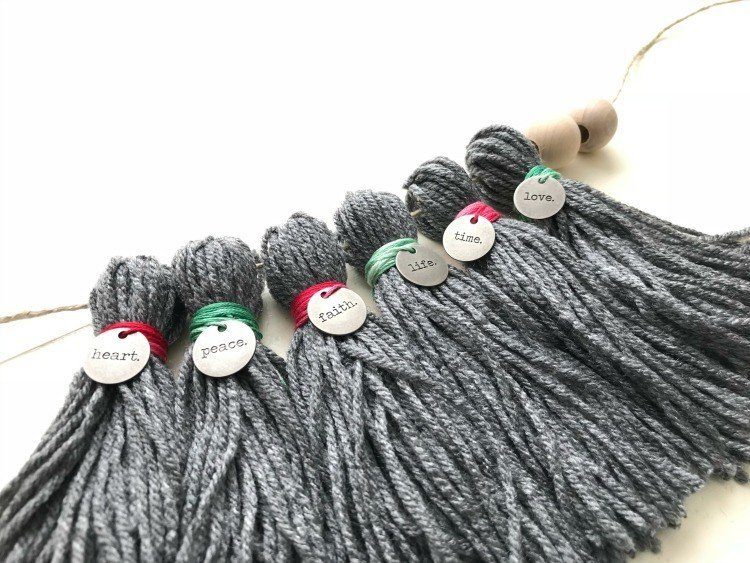 DIY Yarn Tassel Garland with How-To Video!