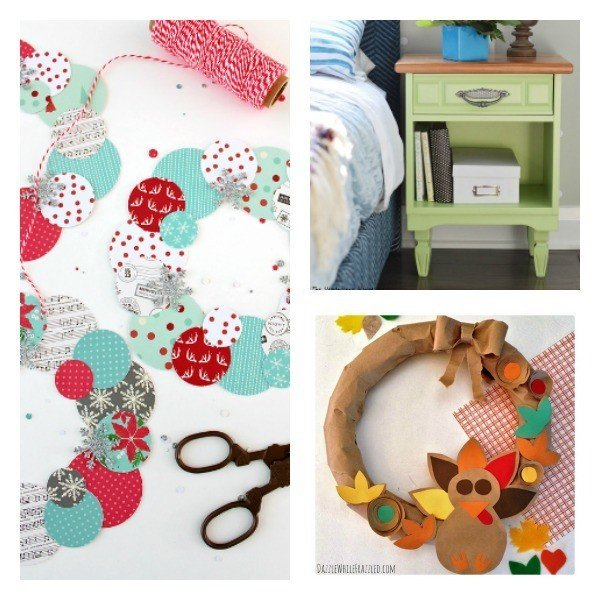 DIY, Crafts & More Link Party 63