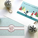 Download both of these fun & free Christmas Printables today. Use them as Christmas Card Printables or as Printable Christmas Decor and Wall Art. Have Yourself A Merry Little Christmas Quote. #DIYChristmasCard #ChristmasCardCraft #ChristmasPrintable #MerryLittleChristmas