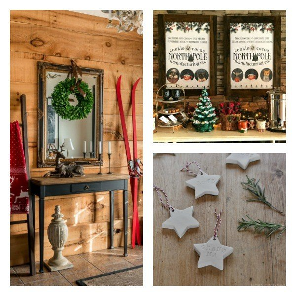 Check out these featured posts: beautiful home Christmas Decor, Air Dry Clay Ornaments or Tags, and the prettiest Cocoa Bar Printables.
