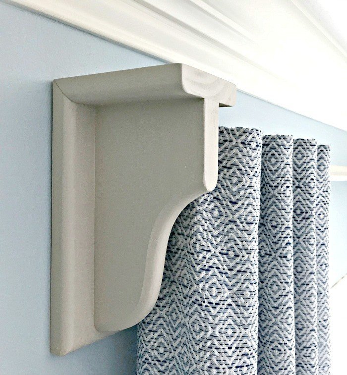 Quick & Easy DIY Wooden Curtain Rod.