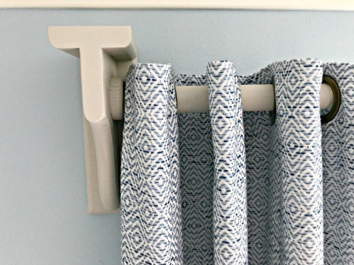 Diy Wooden Curtain Rod And Brackets Abbotts At Home