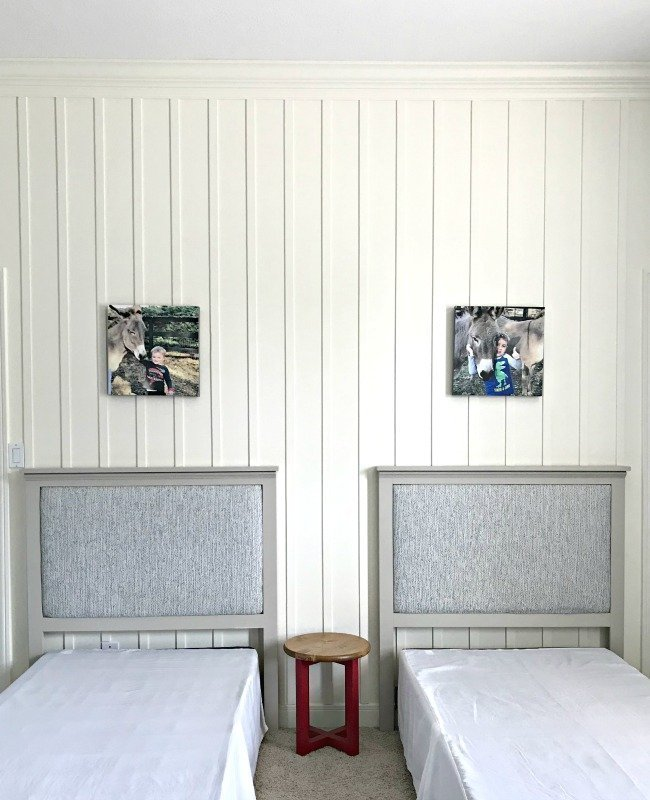 Make A DIY Upholstered Twin Headboard, With Videos