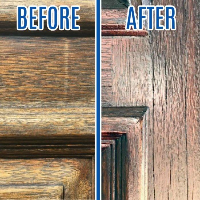 Restain A Door With Quick Easy Diy