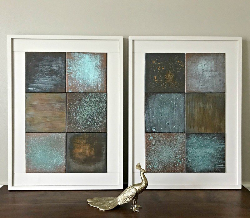 Easy DIY Chunky Wooden Frame for Wall Art