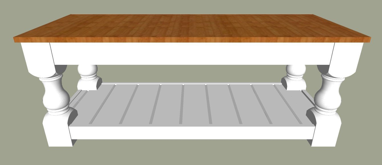 Diy Farmhouse Coffee Table Plans Abbotts At Home