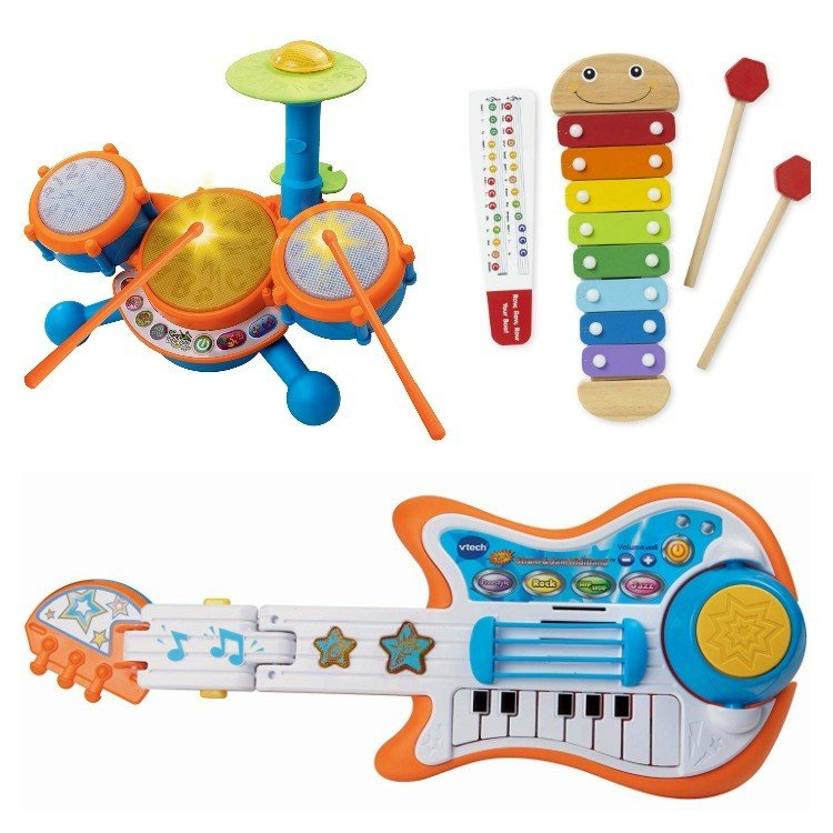 Music!Here's my big list of Best Toy Gifts for Little Boys. These are the toys my kids actually play with, all the time. Includes small gifts, science kits, art supplies, trucks, and outdoor toys. Plus, 5 toy gift fails. #AbbottsAtHome #BestToys #KidsToys #GiftIdeas #BestGifts #Christmas #Birthday
