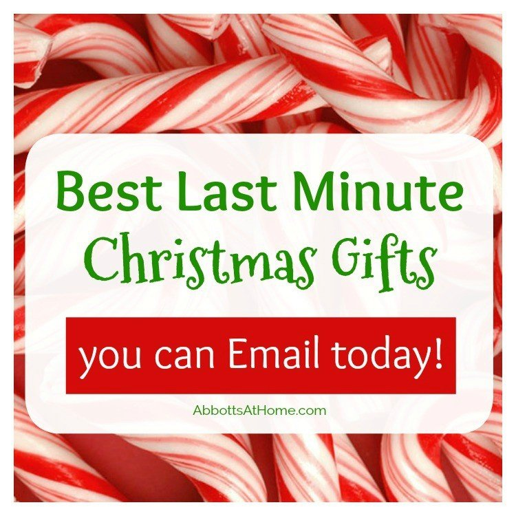 Best Last Minute Gifts you can Email or Subscribe To