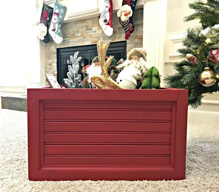 Christmas Tree Box Stand.Diy Christmas Tree Box Stand And Ornament Storage Abbotts