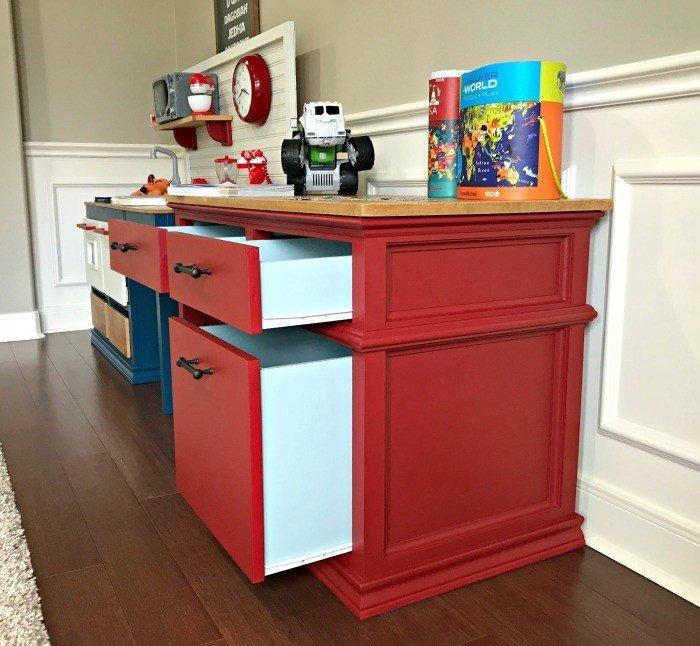Diy Childrens Desk Plans With Storage Abbotts At Home