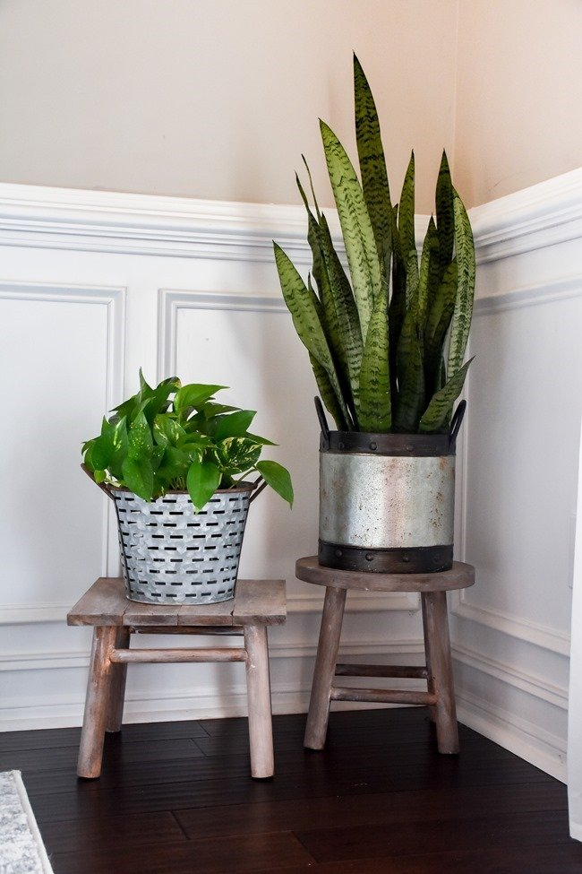 Best DIY Upcycle Ideas - DIY Planter Stand from Bar Stools