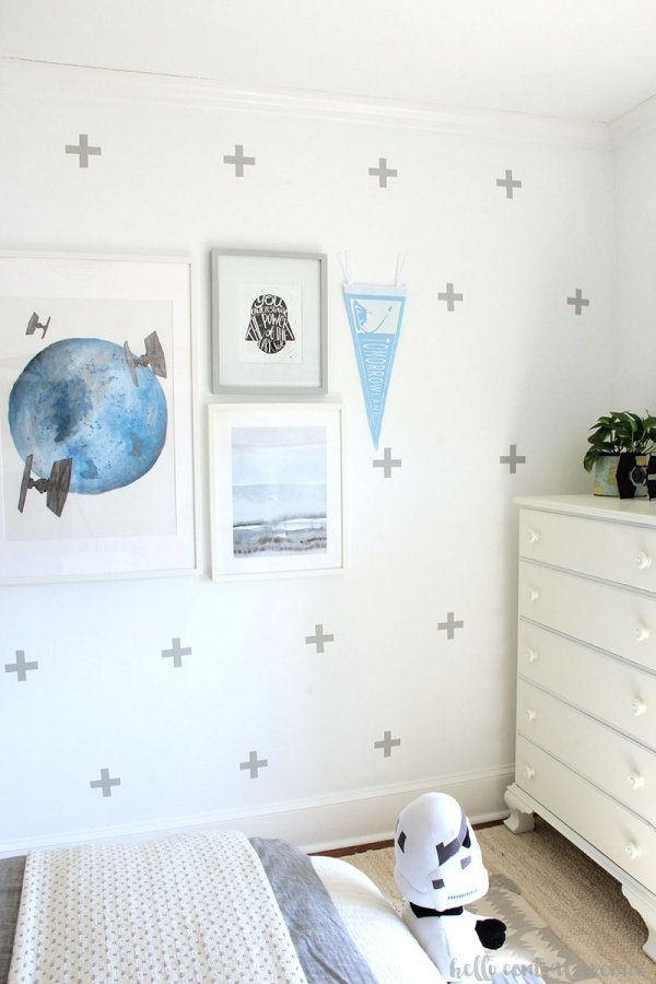 Best DIY Upcycle Ideas - Wax Paper Wall Decals