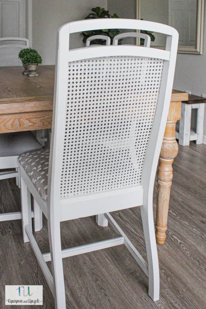 Best DIY Upcycle Ideas - Paint Cane Back Chairs