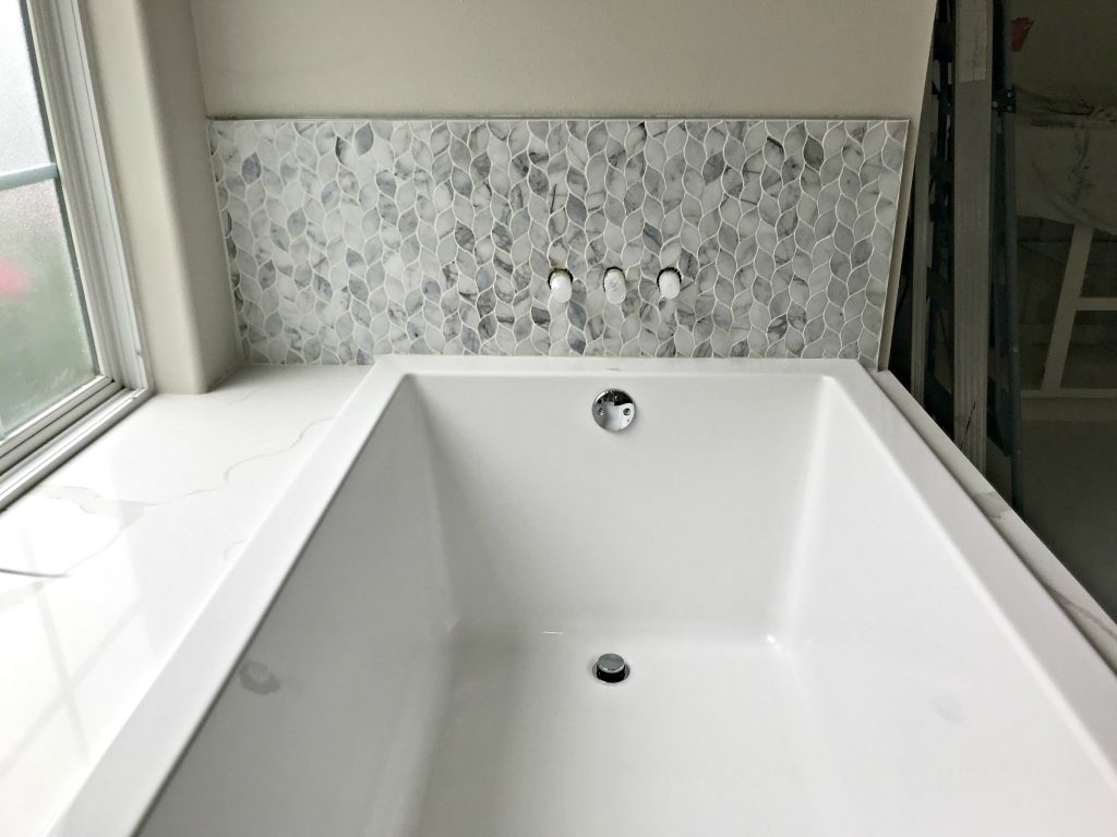 Marble Mosaic Tile Bathroom Installation Tips Abbotts At Home