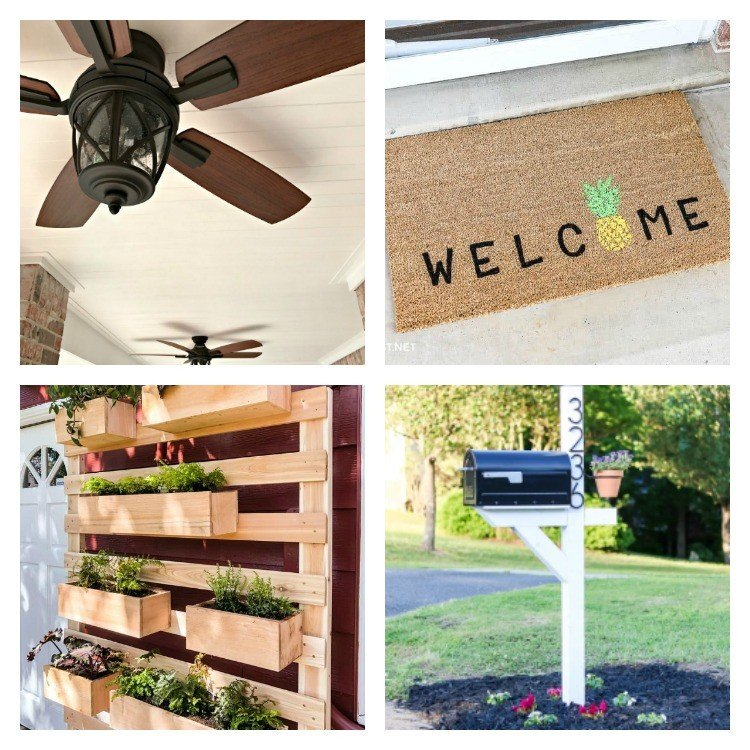 12 Low Budget Outdoor DIY Projects for Curb Appeal