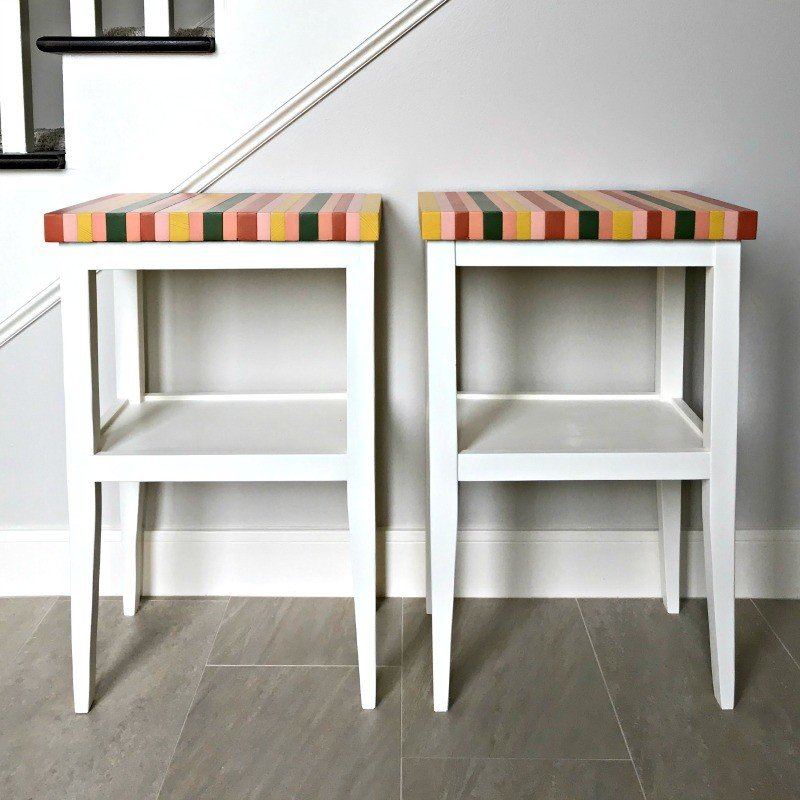 DIY Side Table Plans – Build one for less than $20!