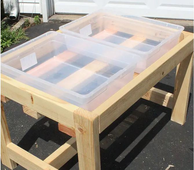 DIY Kids Water Sand Table