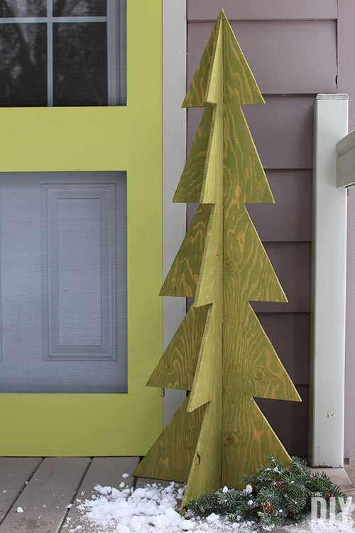 3D Wooden DIY Christmas Tree