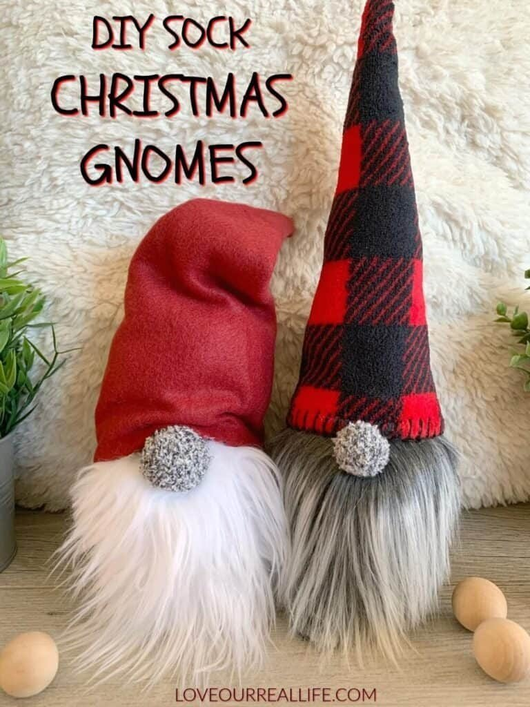 DIY Christmas Gnomes from Socks