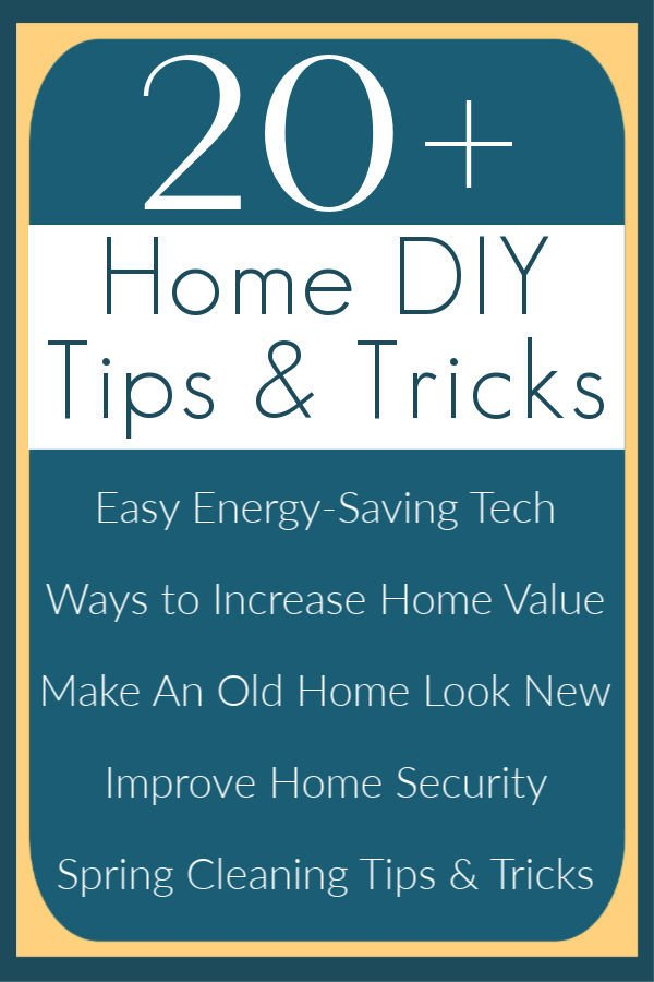 30+ DIY Home Improvement Tips and Tricks that I use on my home. These are the DIY projects that I recommend for saving you money, making your life easier, and/or making your home look modern and beautiful. DIY Home Improvement ideas and projects.
