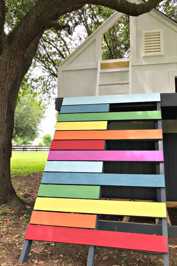 The DIY Projects I'm using to build this Outdoor Kids Playhouse. Here's a sneak peek at my big DIY Kid's Playhouse build. With lots of DIY videos and photos to help you Build a Kids Playhouse from a Shed.