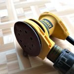 Quick and Easy to follow guide for Dewalt Sanding Pad Repair. With Written Steps and Video for Velcro Pad Replacement for an Orbital Sander. How to replace the velcro sanding pad on an orbital sander.