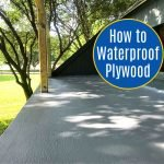 Easy to follow DIY steps for how to waterproof a plywood deck, roof, or balcony with a Liquid Rubber Deck Coating. How to waterproof wood outside. How to waterproof a deck.